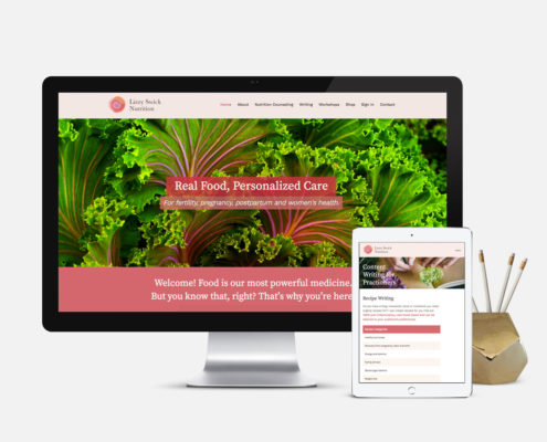 Nutritionist Website Design