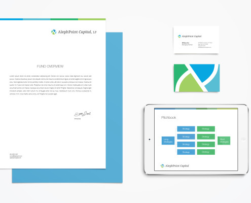 Healthcare Investment Fund Logo Design and Branding