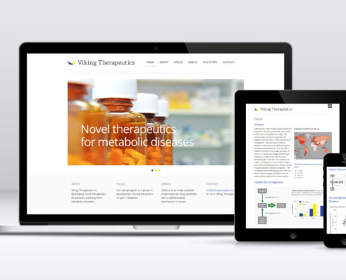 Biotech Website Design