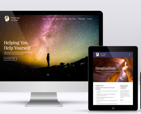 Hypnotherapist Website Design