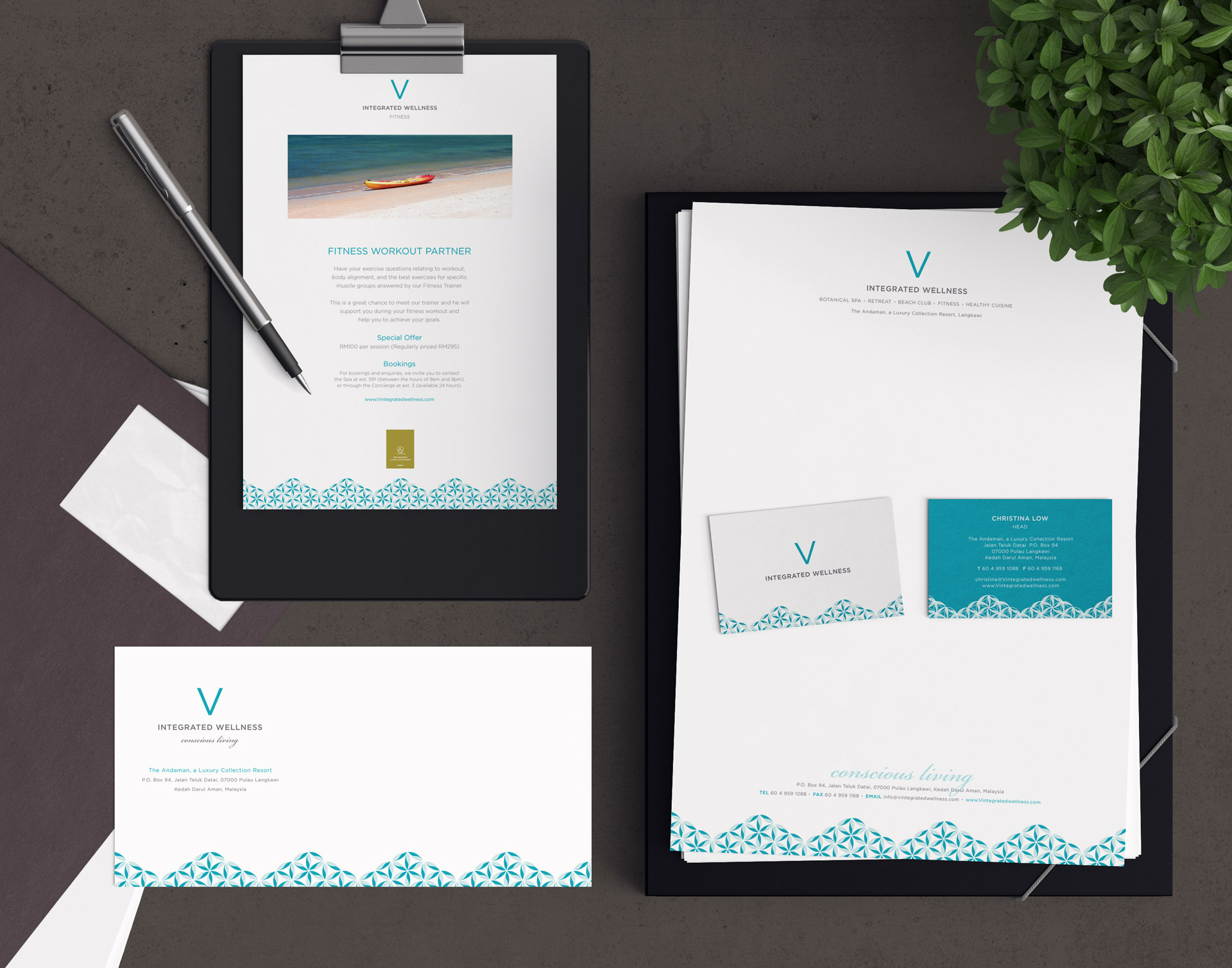 Wellness Branding and Design, Spa Branding and Design