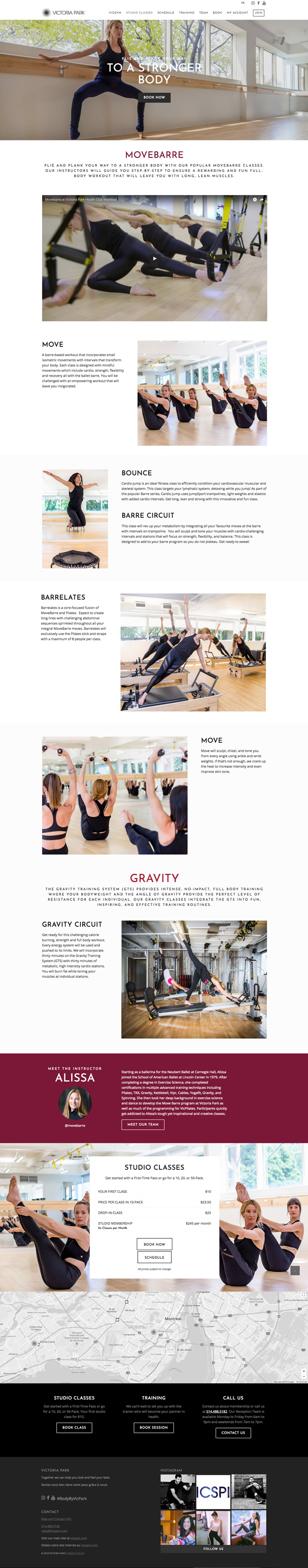 Health Wellness Branding Web Design Victoria Park Fitness Circuit Works Personal Training Brochure Website