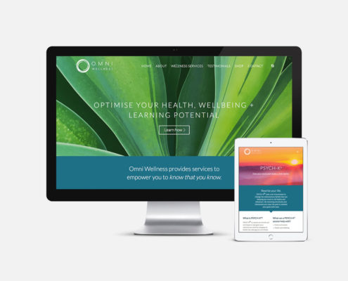 Health and Wellness Website Design